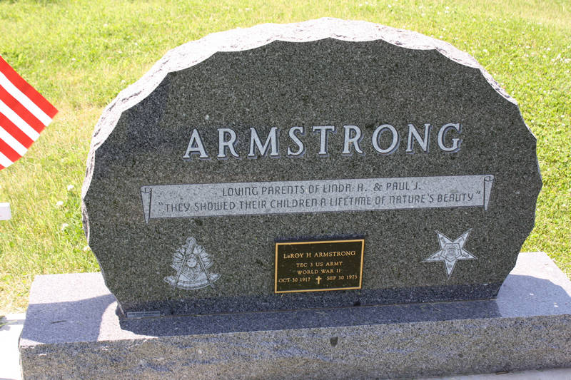 Dorothy Armstrong Grave Photo