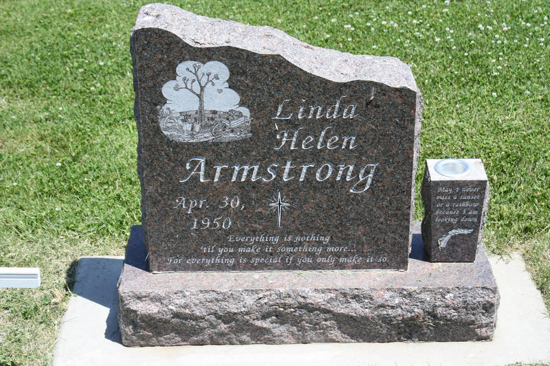 Linda Helen Armstrong Grave Photo