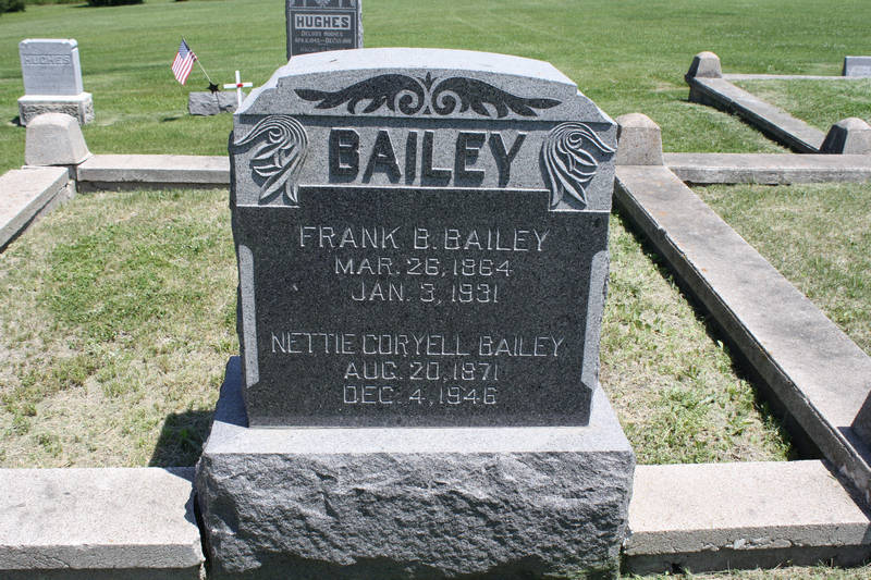Nettie Coryell Bailey Grave Photo