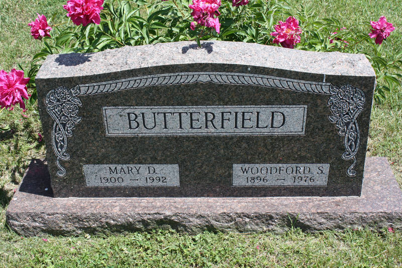 Mary D. Butterfield Grave Photo