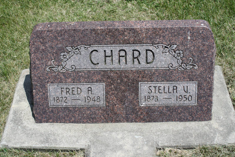 Fred A. Chard Grave Photo