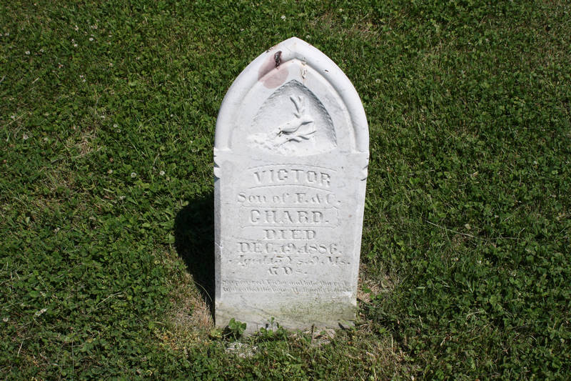 Victor Chard Grave Photo