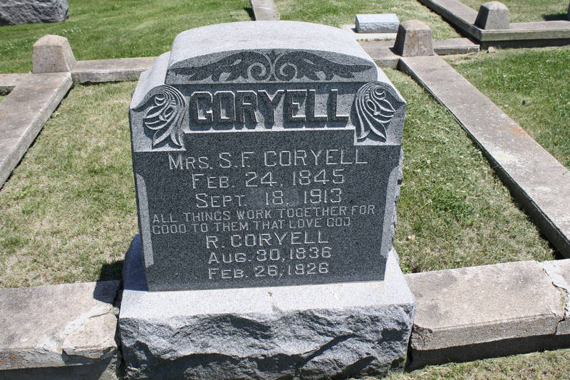 Mrs. S.F. Coryell Grave Photo
