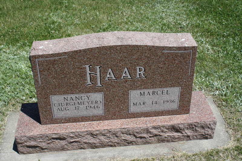 Nancy (Jurgemeyer) Haar Grave Photo